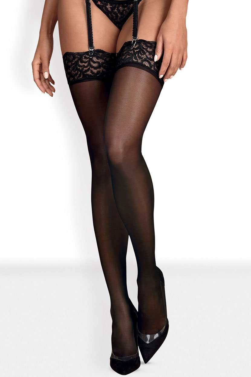 Obsessive Laluna Lace Stockings