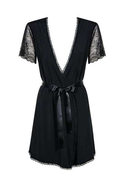 Obsessive Miamor Robe & Thong, MIAMOR-ROBE-L/XL, MIAMOR-ROBE-S/M