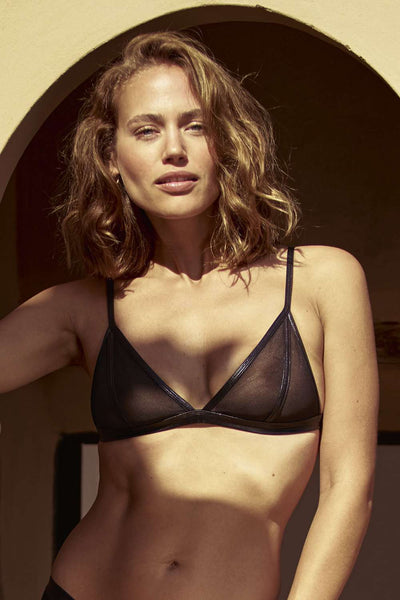 Inamorata London Dahlia Sheer Triangle Bra
