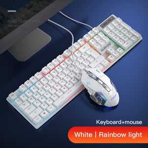 Pack Clavier / Souris Gamer Filaire