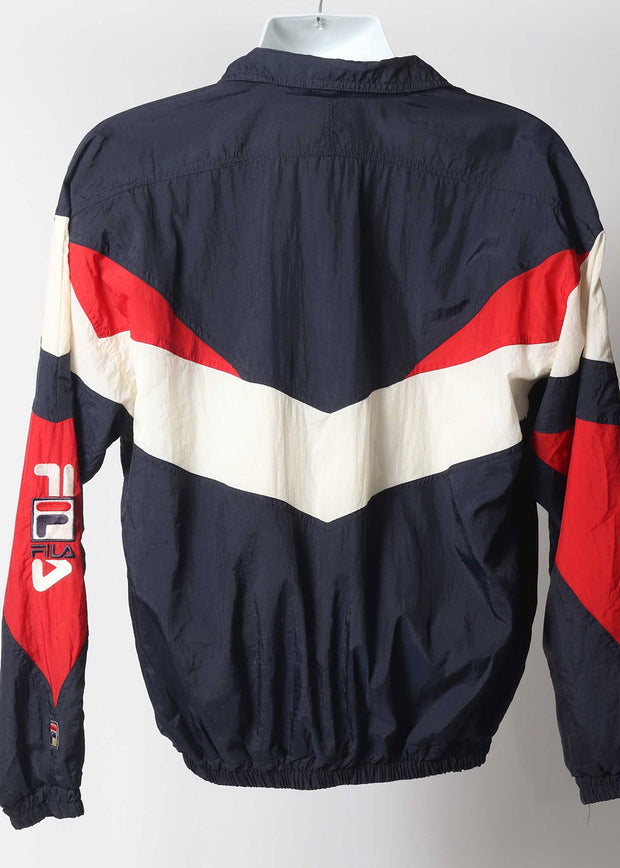 S Fila spellout jacket