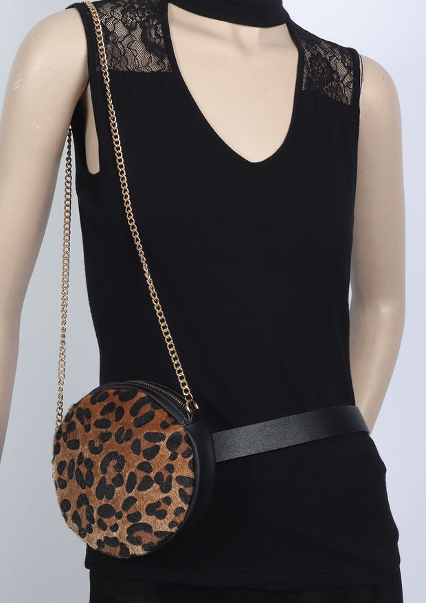 Leopardo Belt/Shoulder Bag