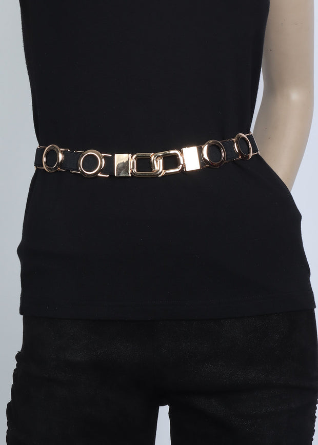 Gold Rounds Waist Belt