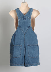 Short Denim Overalls Size 8 Gap