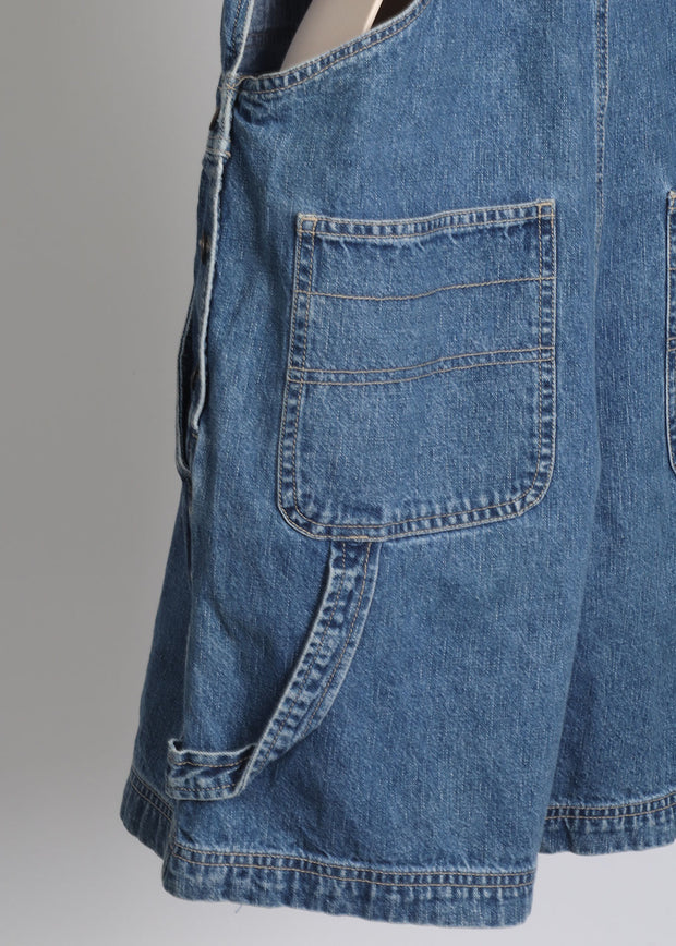 Short Denim Overalls 12 M Bill Blass