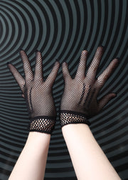 Fishnet Wrist Gloves