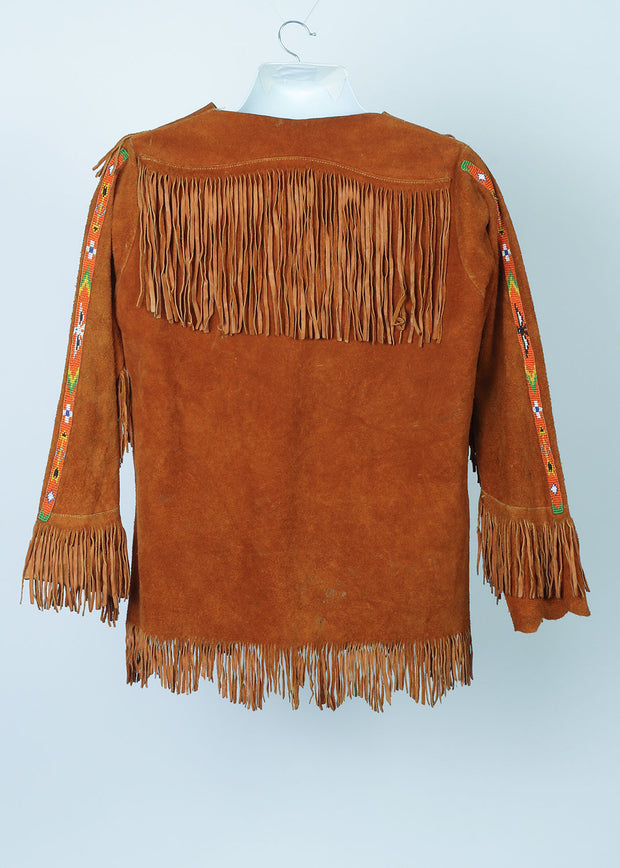 70's Hippy Suede Top