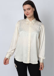 Silk Embroidered Blouse 10