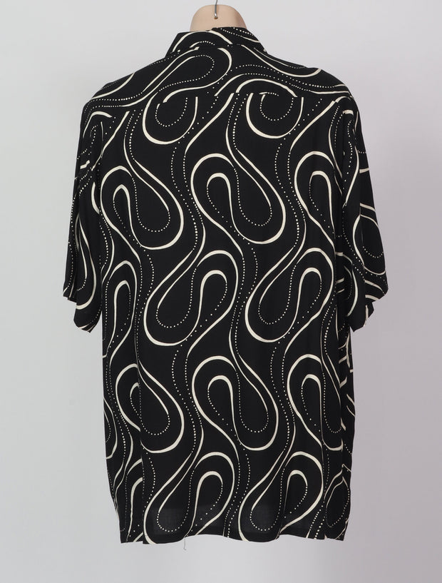 XL Op Art 60's Pattern Shirt