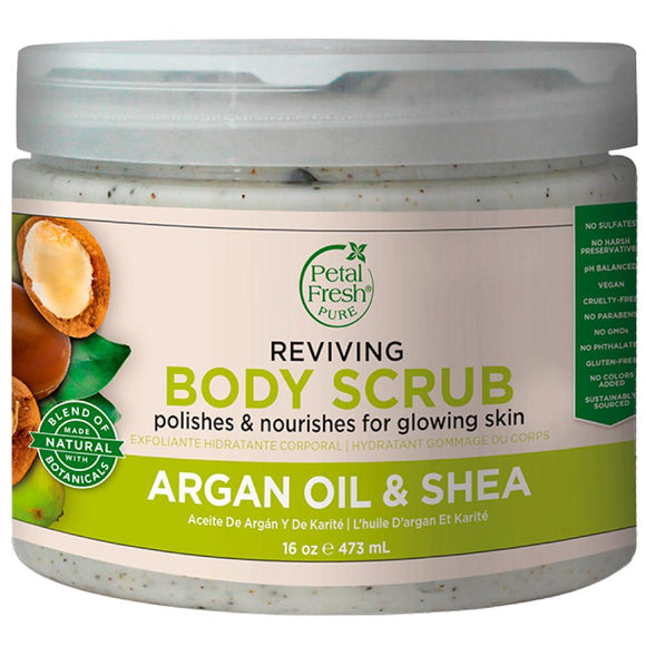Argan Shea Body Scrub X 16Oz