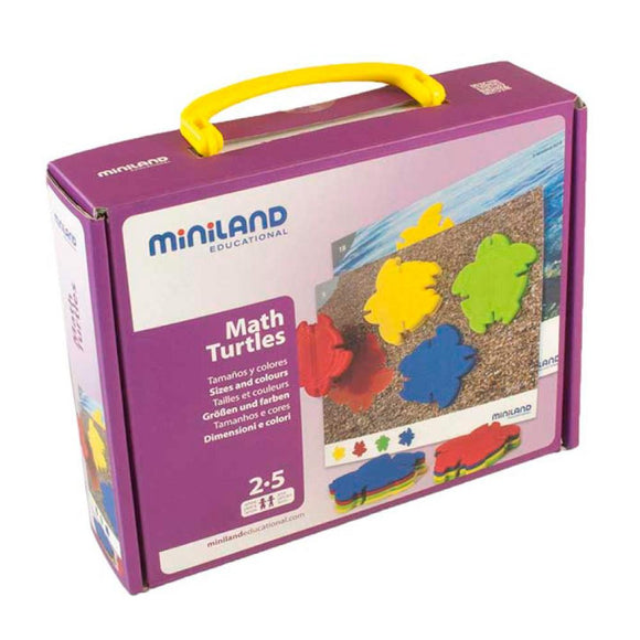 Miniland Math Turtles 2-5 Años