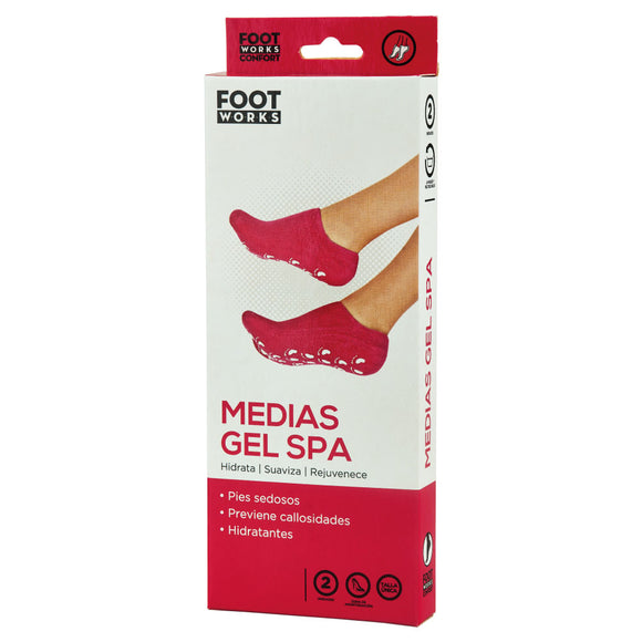 Footworks Medias Gel SPA Hidratantes