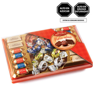 Monardo Scatola Fantasia Cioccolattini Assortiti 200gr