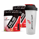 2 UNID. PRE HD (PRE WORKOUT 100G) + COQUETELEIRA (600ML) BODY ACTION