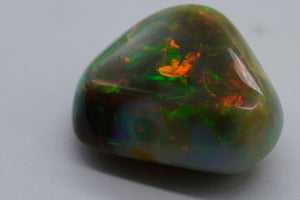 20.76 ct. Natural Ethiopian Black Opal.