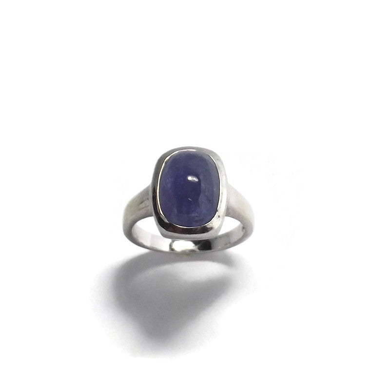 Tanzanite and Sterling Silver Ring.