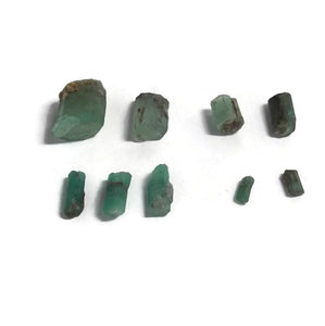 Emerald - Rough-Hexagonal structure Specimens