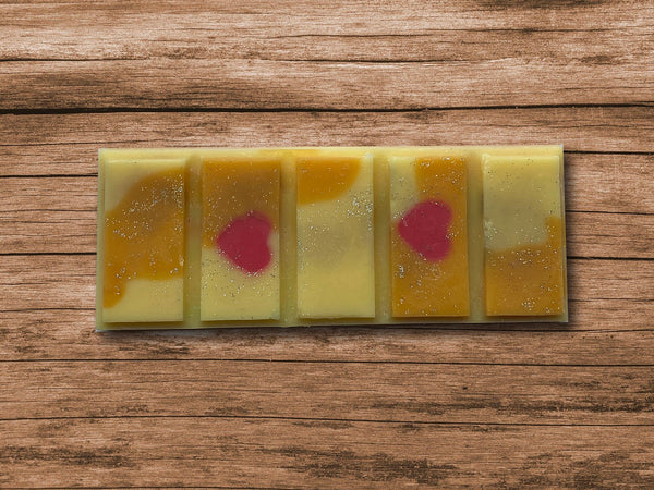 Rhubarb and Custard Snap Bar