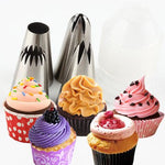 4 PCS LARGE RUSSIAN ICING PIPING TIPS