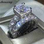 5a Zircon Cz 925 Sterling Silver Ring