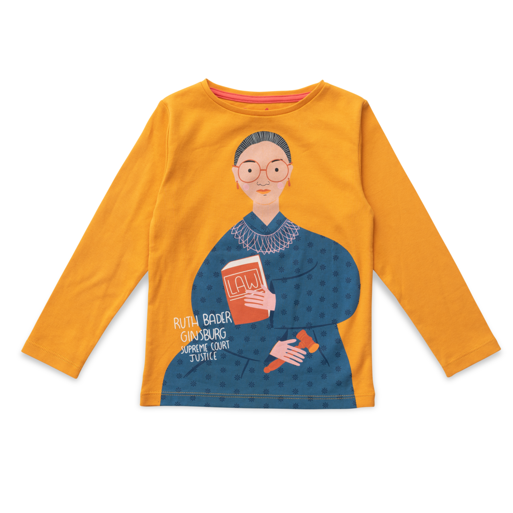 Ruth Bader Ginsburg Trailblazer Long Sleeve Tee