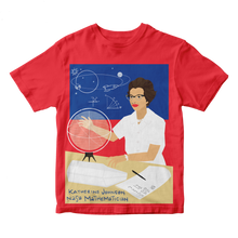 Load image into Gallery viewer, Katherine Johnson Short Sleeve Trailblazer Tee