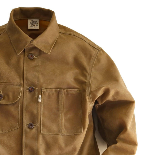 WAXED DUCK CHORE COAT 17oz