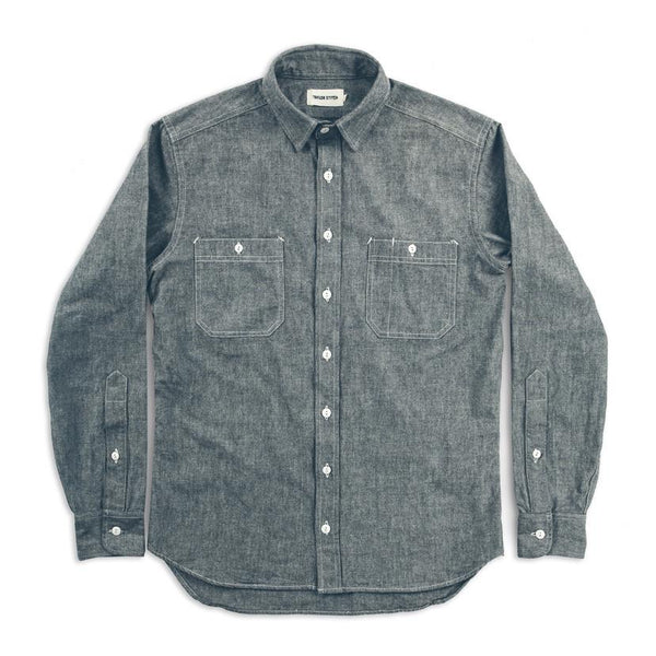 The California in Charcoal Everyday Chambray
