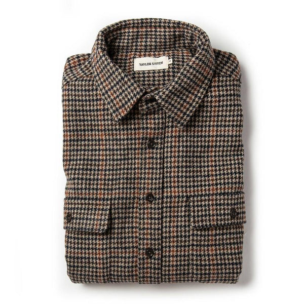 The Leeward Shirt in Houndstooth