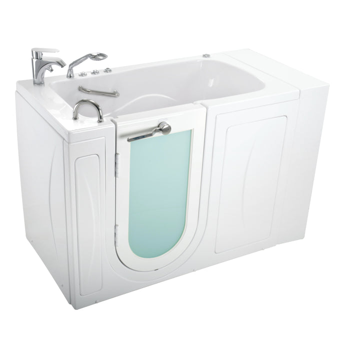 Ella's Bubbles Capri & Zen – Acrylic Outward Swing Door Walk-In Bathtub (29.5″W x 52″L)