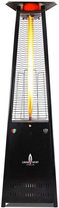 Lava Heat Propane Patio Heater Capri-A-LINE-6MPBLK- Hammered Black - 42,000 BTU's - KNOCK DOWN