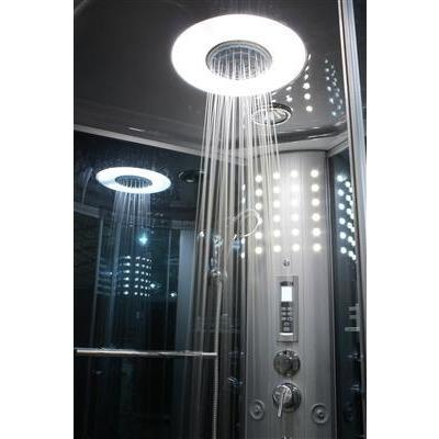 "Mesa WS-803L Steam Shower With Blue Glass (54""L x 35""W x 85""H)"