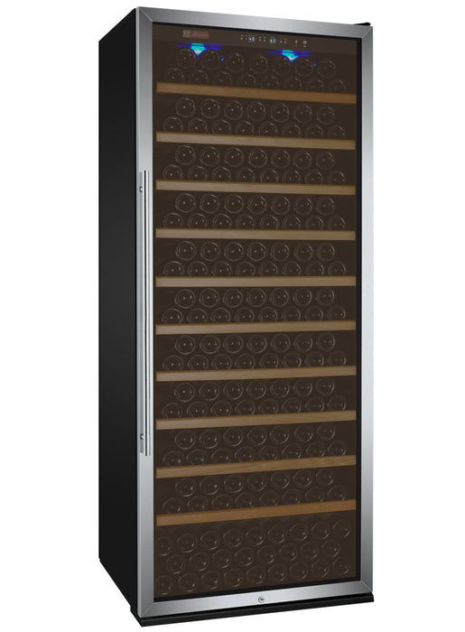 "Allavino 32"" Wide Vite II Tru-Vino 305 Bottle Single Zone Stainless Steel Wine Refrigerator"