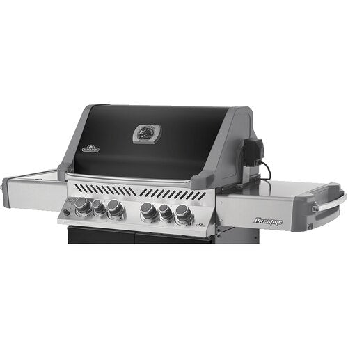 Napoleon Prestige 500 - Natural Gas / Propane Grill with Infrared Side and Rear Burners PRO500RSIBNSS-3/PSS-3