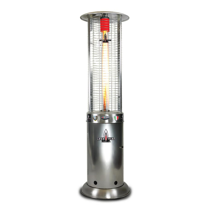 Lava Heat Propane Patio Heater OPUS LITE-R-LINE-7MPS - Stainless Steel - 51,000 BTU's