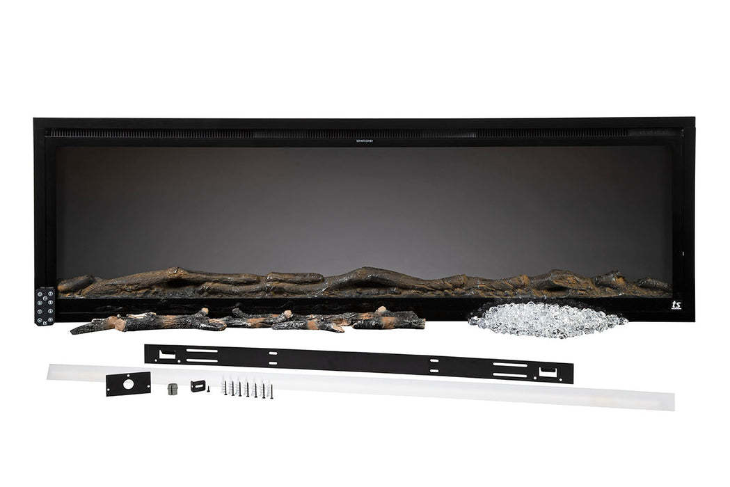 "Touchstone Sideline Elite 50"" - Recessed Electric Fireplace 80036"