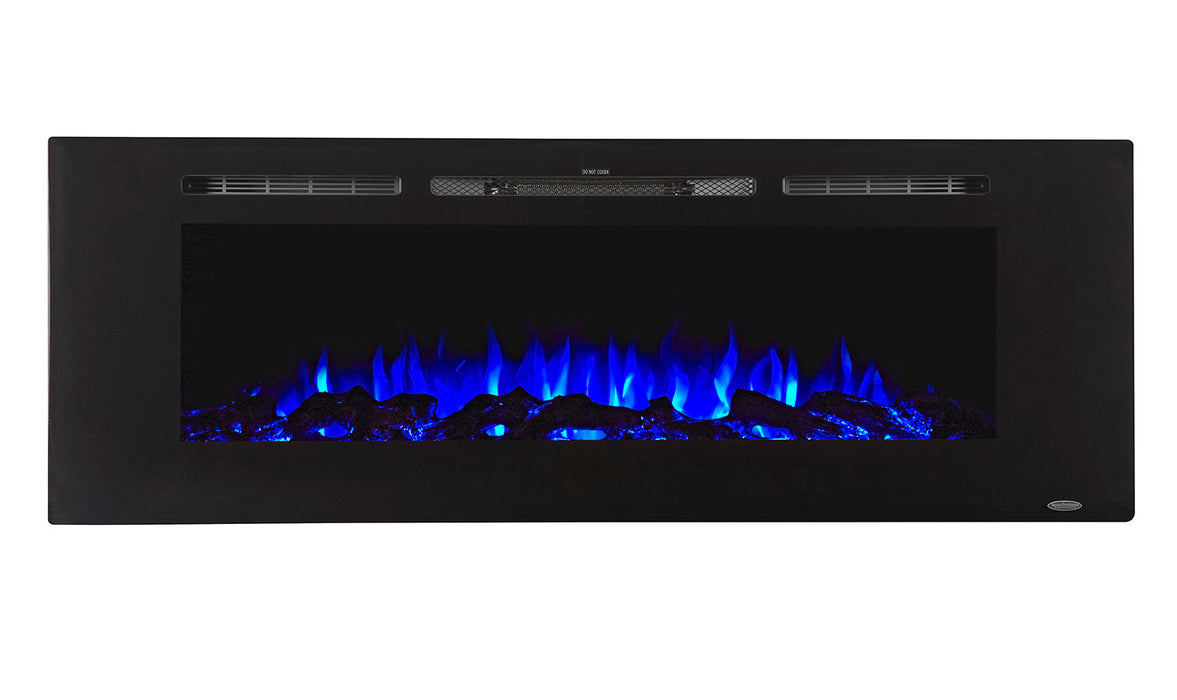 "Mounted Electric Fireplace - Sideline 60"" by Touchstone - ambienthomeus"