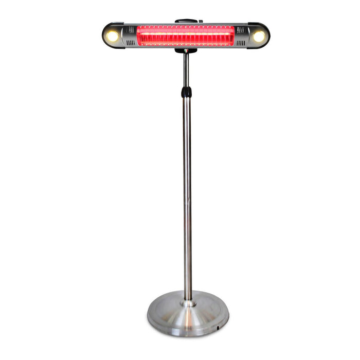 Lava Heat Electric Patio Heater WALL-E-E-LINE-6RES - Stainless Steel - 1500 Watts