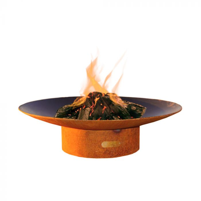 "Fire Pit Art Asia 48"" - Gas and Wood Fire Pit"