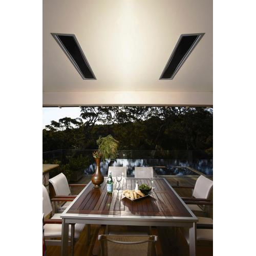 Bromic Heating - Platinum Smart-Heat - 50 Inch 3400W Electric Outdoor Patio Heater- BH0320005