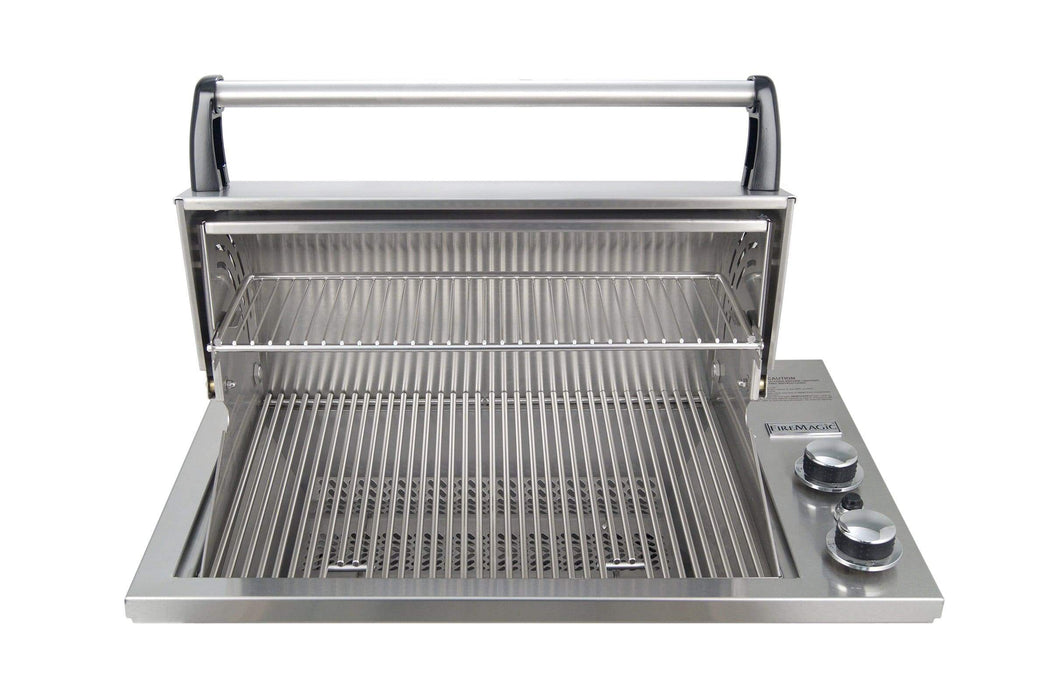 "Fire Magic Deluxe Gourmet Legacy 24"" Drop-In Countertop Gas Grill 3C-S1S1N(P)-A"