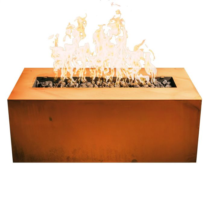 "Fire Pit Art Linear 36"" - Natural Gas or Propane Fire Pit"