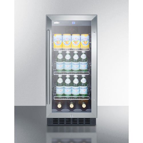 "Summit Appliance 15"" - Wide Built-In Beverage Center"