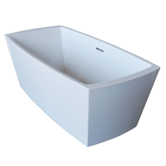 Atlantis Whirlpools Antione 31 x 67 Rectangle Acrylic Freestanding Bathtub