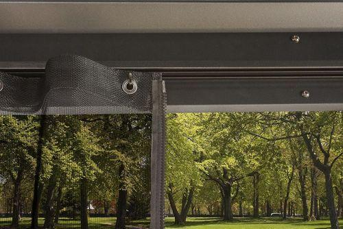 Sojag™ Genova Gazebo Steel Roof with Mosquito Netting