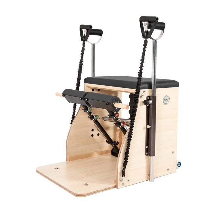 Elina Pilates Wood Pilates Chair ELITE (Combo Chair) with handles ELN 400012