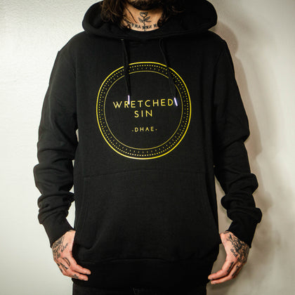 "Wretched Sin ""For The Art From The Heart"" Hoodie."