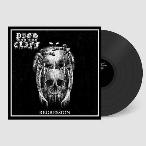 Pigs off the Cliff - Regression Black Vinyl