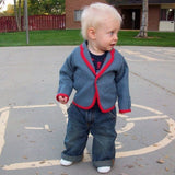 Free Baby Suit Jacket Pattern - 12 mos