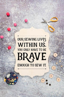 Brave Inspired Sewing SVG